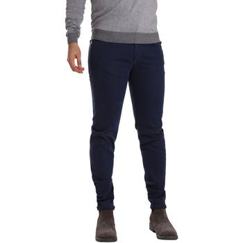 Υφασμάτινα Άνδρας Παντελόνια Πεντάτσεπα Sei3sei PZV17 7257 Μπλε