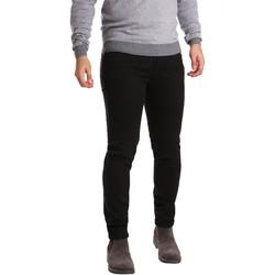 Υφασμάτινα Άνδρας Παντελόνια Πεντάτσεπα Sei3sei PZV17 7257 Μαύρος