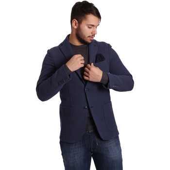 Υφασμάτινα Άνδρας Σακάκι / Blazers Sei3sei PZG9 7290 Μπλε