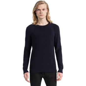 Υφασμάτινα Άνδρας Πουλόβερ Calvin Klein Jeans J30J305473 Μπλε
