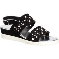 Παπούτσια Γυναίκα Σανδάλια / Πέδιλα Keys 5915 Μαύρος