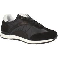 Παπούτσια Άνδρας Χαμηλά Sneakers Exton 661 Μαύρος