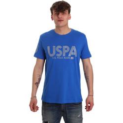 Υφασμάτινα Άνδρας T-shirt με κοντά μανίκια U.S Polo Assn. 57197 49351 Μπλε
