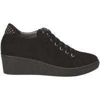 Παπούτσια Γυναίκα Χαμηλά Sneakers Grunland SC3524 Μαύρος