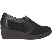 Παπούτσια Γυναίκα Μοκασσίνια Grunland SC3525 Μαύρος