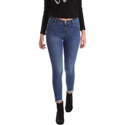 Υφασμάτινα Γυναίκα Skinny jeans Gas 355652 Μπλε