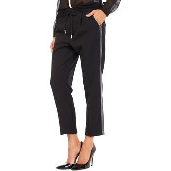 Υφασμάτινα Γυναίκα Παντελόνια Chino/Carrot Gas 365777 Μαύρος