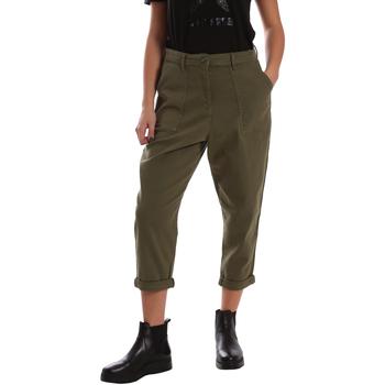 Υφασμάτινα Γυναίκα Παντελόνια Chino/Carrot Tommy Hilfiger DW0DW02588 Πράσινος