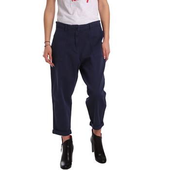 Υφασμάτινα Γυναίκα Παντελόνια Chino/Carrot Tommy Hilfiger DW0DW02588 Μπλε