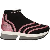 Παπούτσια Γυναίκα Ψηλά Sneakers Fornarina PI18SL1077J066 Μαύρος
