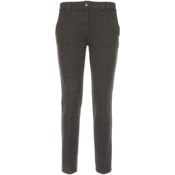 Υφασμάτινα Γυναίκα Παντελόνια Chino/Carrot NeroGiardini A760020D Μαύρος