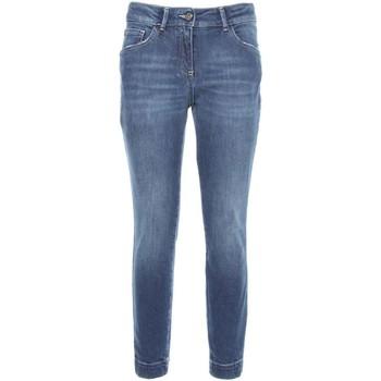 Υφασμάτινα Γυναίκα Skinny Τζιν  NeroGiardini A760110D Μπλε