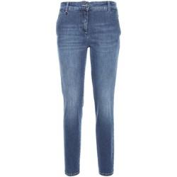 Υφασμάτινα Γυναίκα Skinny Τζιν  NeroGiardini A760120D Μπλε