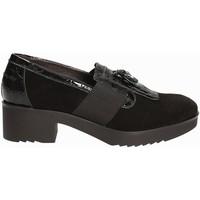Παπούτσια Γυναίκα Μοκασσίνια Susimoda 875084 Μαύρος