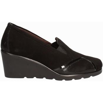 Παπούτσια Γυναίκα Μοκασσίνια Susimoda 872877 Μαύρος