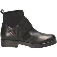 Παπούτσια Γυναίκα Μποτίνια Mally 5887D Μαύρος