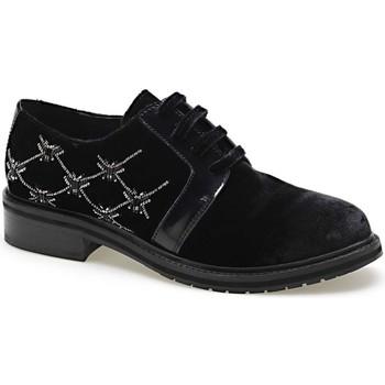 Παπούτσια Γυναίκα Derby Apepazza CMB03 Μαύρος