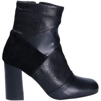 Παπούτσια Γυναίκα Μποτίνια Keys 7173 Μαύρος
