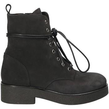 Παπούτσια Γυναίκα Μποτίνια Mally 4235 Μαύρος
