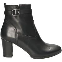 Παπούτσια Γυναίκα Μποτίνια Mally 4473 Μαύρος