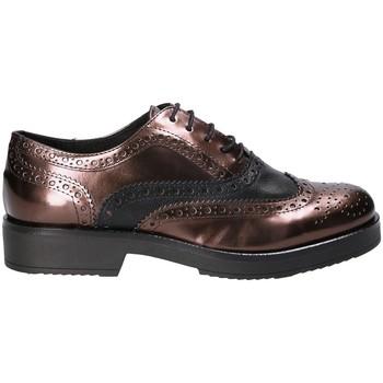 Παπούτσια Γυναίκα Derby Mally 4704S καφέ