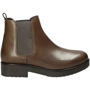 Παπούτσια Γυναίκα Μποτίνια Mally 5535J καφέ