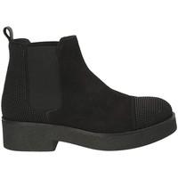 Παπούτσια Γυναίκα Μποτίνια Mally 5536 Μαύρος