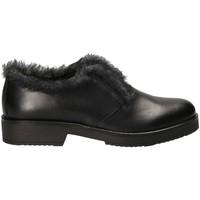 Παπούτσια Γυναίκα Μοκασσίνια Mally 5885BR Μαύρος