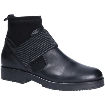 Παπούτσια Γυναίκα Μποτίνια Mally 5887 Μαύρος