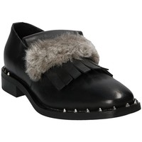 Παπούτσια Γυναίκα Μοκασσίνια Mally 5970 Μαύρος