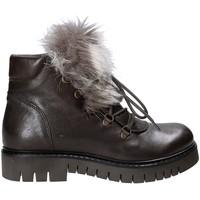 Παπούτσια Γυναίκα Μπότες Mally 5985 καφέ