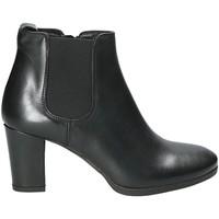 Παπούτσια Γυναίκα Μποτίνια Mally 5500K Μαύρος