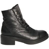Παπούτσια Γυναίκα Μποτίνια Mally 6019 Μαύρος