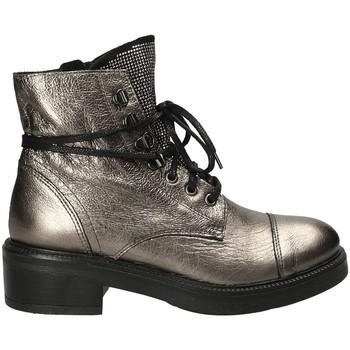Παπούτσια Γυναίκα Μποτίνια Mally 6019 Γκρί
