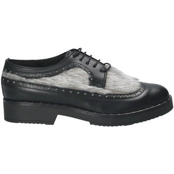 Παπούτσια Γυναίκα Derby Mally 4665SD Μαύρος