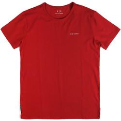 Υφασμάτινα Άνδρας T-shirt με κοντά μανίκια Key Up 2G69S 0001 το κόκκινο