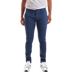 Υφασμάτινα Άνδρας Παντελόνια Chino/Carrot Gaudi 911BU25007 Μπλε