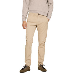 Υφασμάτινα Άνδρας Παντελόνια Chino/Carrot Pepe jeans PM210992C342 Μπεζ