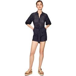 Υφασμάτινα Γυναίκα Ολόσωμες φόρμες / σαλοπέτες Pepe jeans PL230294 Μπλε