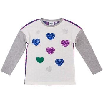 Υφασμάτινα Παιδί Μπλουζάκια με μακριά μανίκια Primigi 38212501 Γκρί