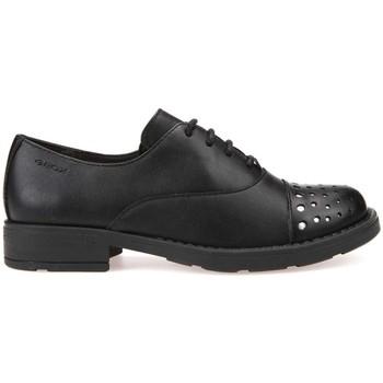 Παπούτσια Παιδί Derby Geox J74D3I 05443 Μαύρος
