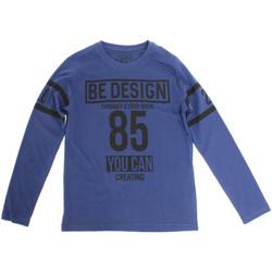 Υφασμάτινα Παιδί Μπλουζάκια με μακριά μανίκια Losan 723 1203AA Μπλε