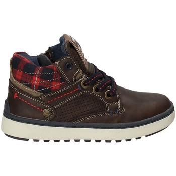 Παπούτσια Παιδί Ψηλά Sneakers Wrangler WJ17220 καφέ