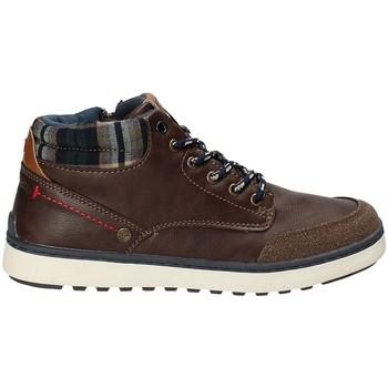 Παπούτσια Παιδί Ψηλά Sneakers Wrangler WJ17219 καφέ