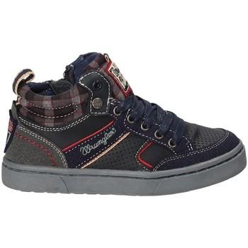 Παπούτσια Παιδί Ψηλά Sneakers Wrangler WJ17225B Μπλε