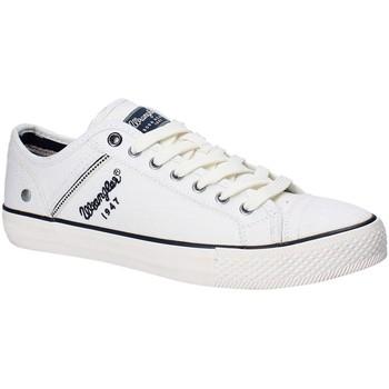 Παπούτσια Άνδρας Χαμηλά Sneakers Wrangler WM181030 λευκό