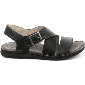Παπούτσια Άνδρας Σανδάλια / Πέδιλα Grunland SA1853 Μαύρος