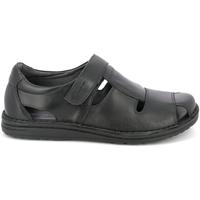 Παπούτσια Άνδρας Σανδάλια / Πέδιλα Grunland SA1515 Μαύρος