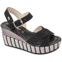 Παπούτσια Γυναίκα Σανδάλια / Πέδιλα Valleverde 32435 Μαύρος