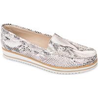 Παπούτσια Γυναίκα Μοκασσίνια Valleverde 11108 λευκό